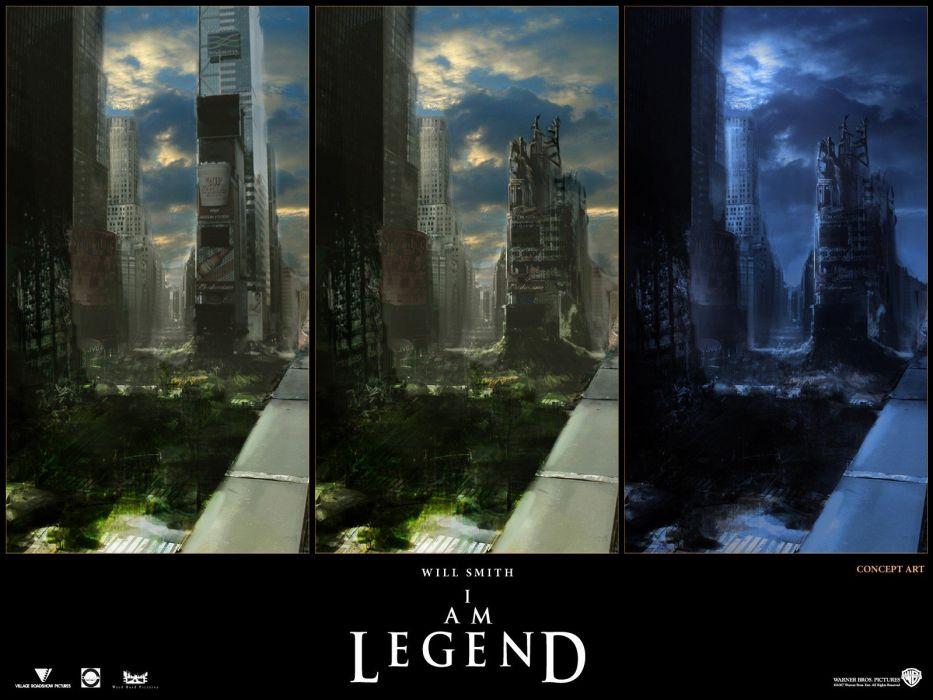 movies I Am Legend wallpaper
