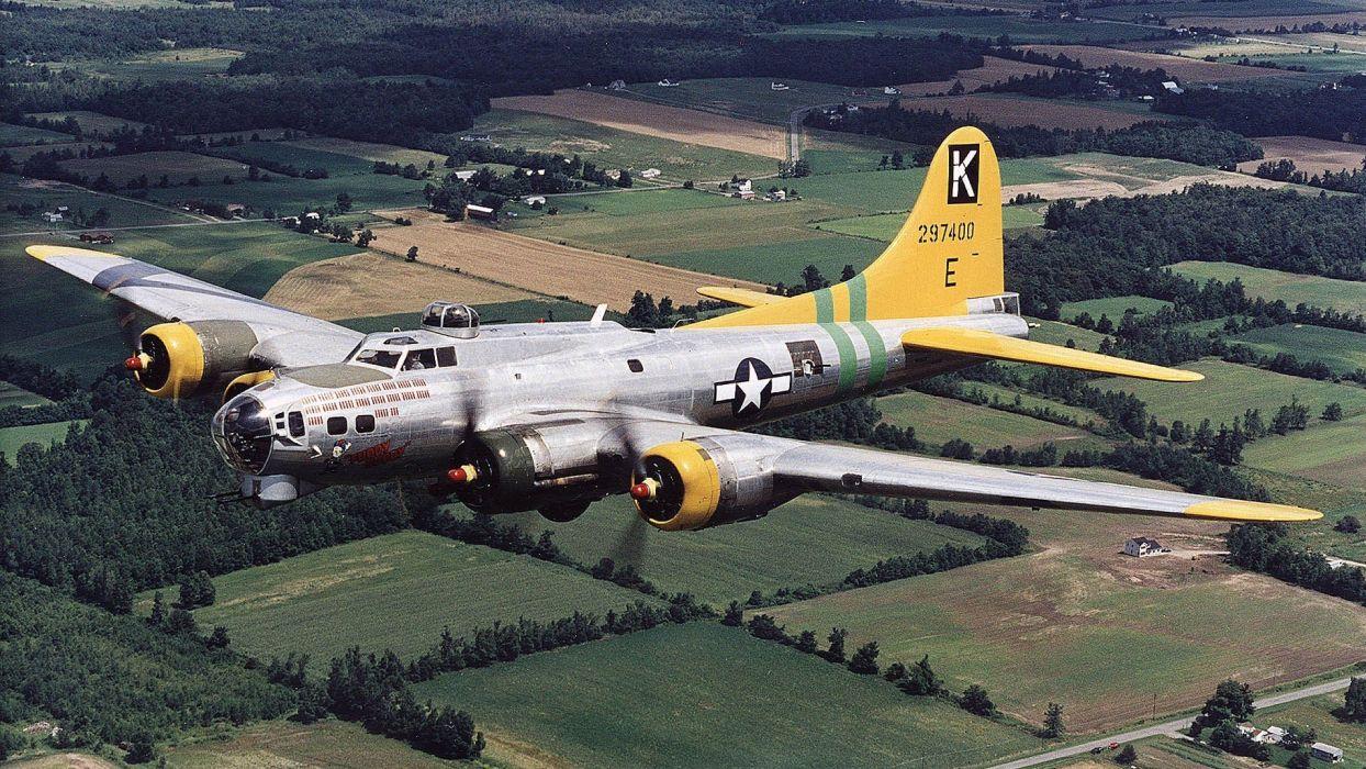 airplanes b17 wallpaper