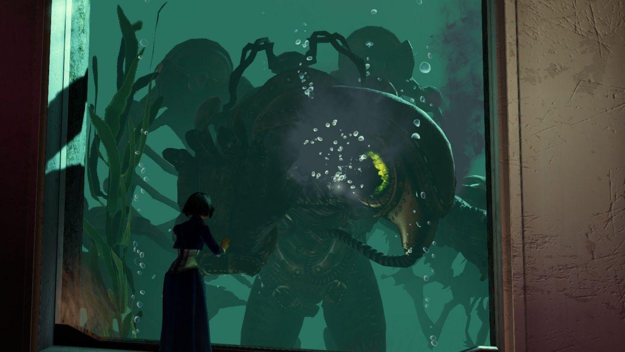 Bioshock Infinite Songbird Elizabeth Comstock wallpaper