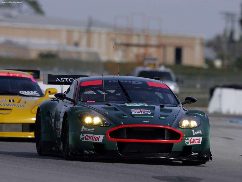 cars Aston Martin races Aston Martin DBR9 wallpaper