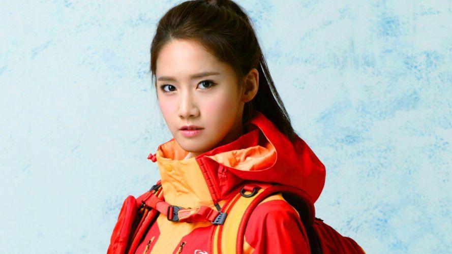 brunettes women Girls Generation SNSD celebrity Asians Korean singers Im YoonA K-Pop wallpaper