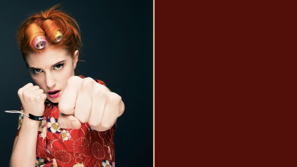 Hayley Williams Paramore women wallpaper
