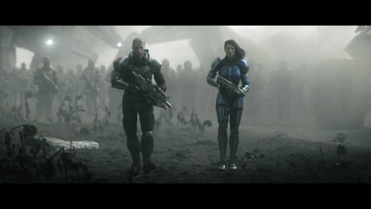 Mass Effect screenshots Mass Effect 3 Commander Shepard Ashley Williams wallpaper