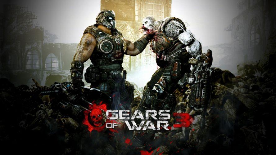 video games Gears Of War 3 wallpaper