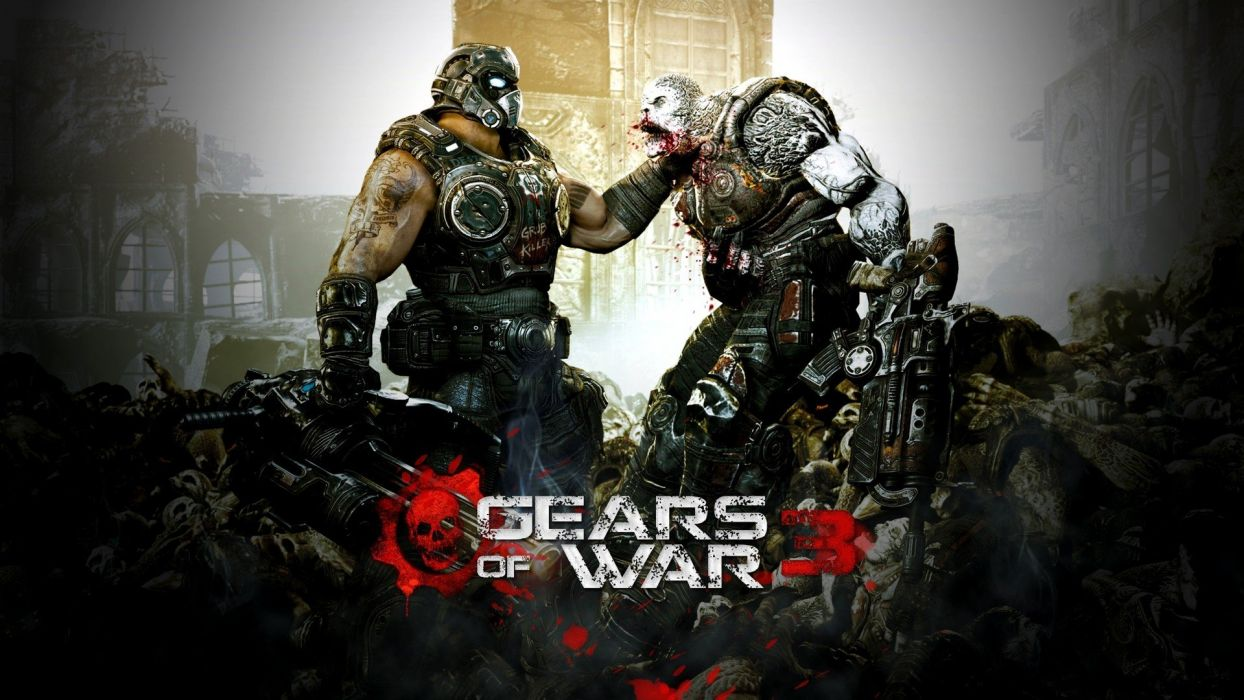 video games Gears Of War 3 wallpaper