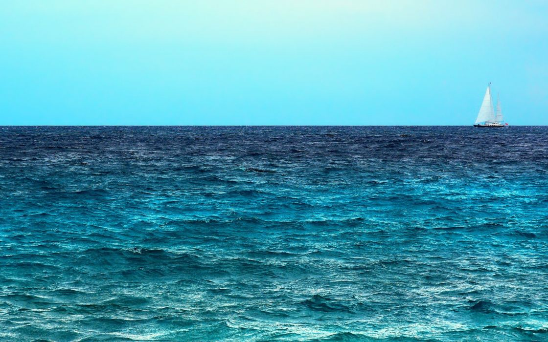 water ocean landscapes waves calm lakes skyscapes wallpaper
