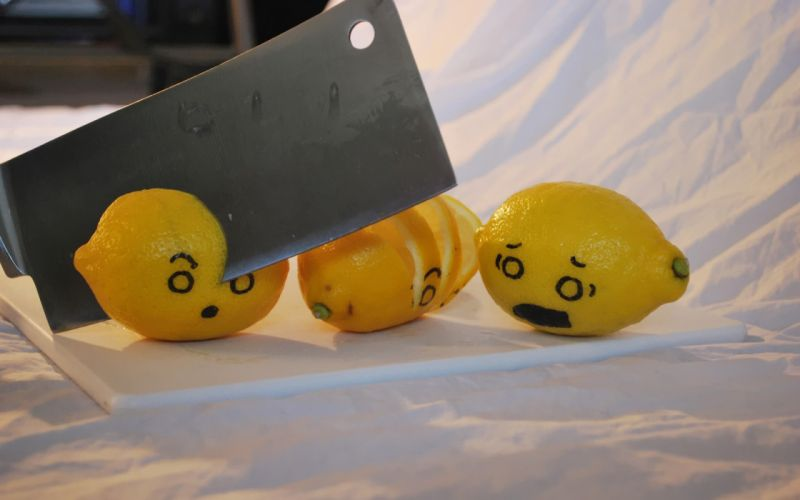 food funny lemons wallpaper