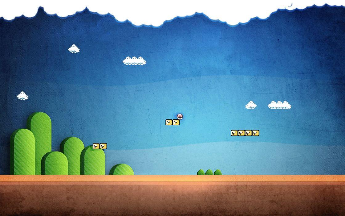video games Super Mario wallpaper