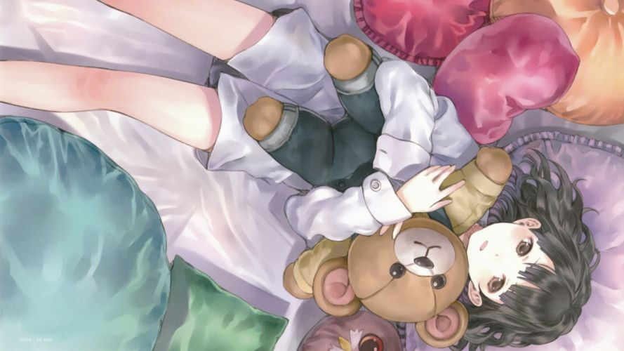 toys (children) Sora No Woto teddy bears Kishida Mel anime girls Suminoya Kureha wallpaper