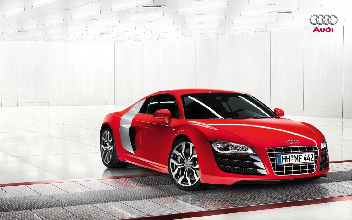 cars Audi vehicles German cars front angle view wallpaper
