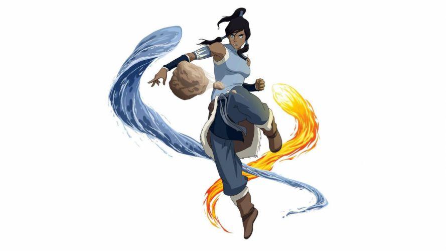 simple background Korra Avatar: The Legend of Korra wallpaper