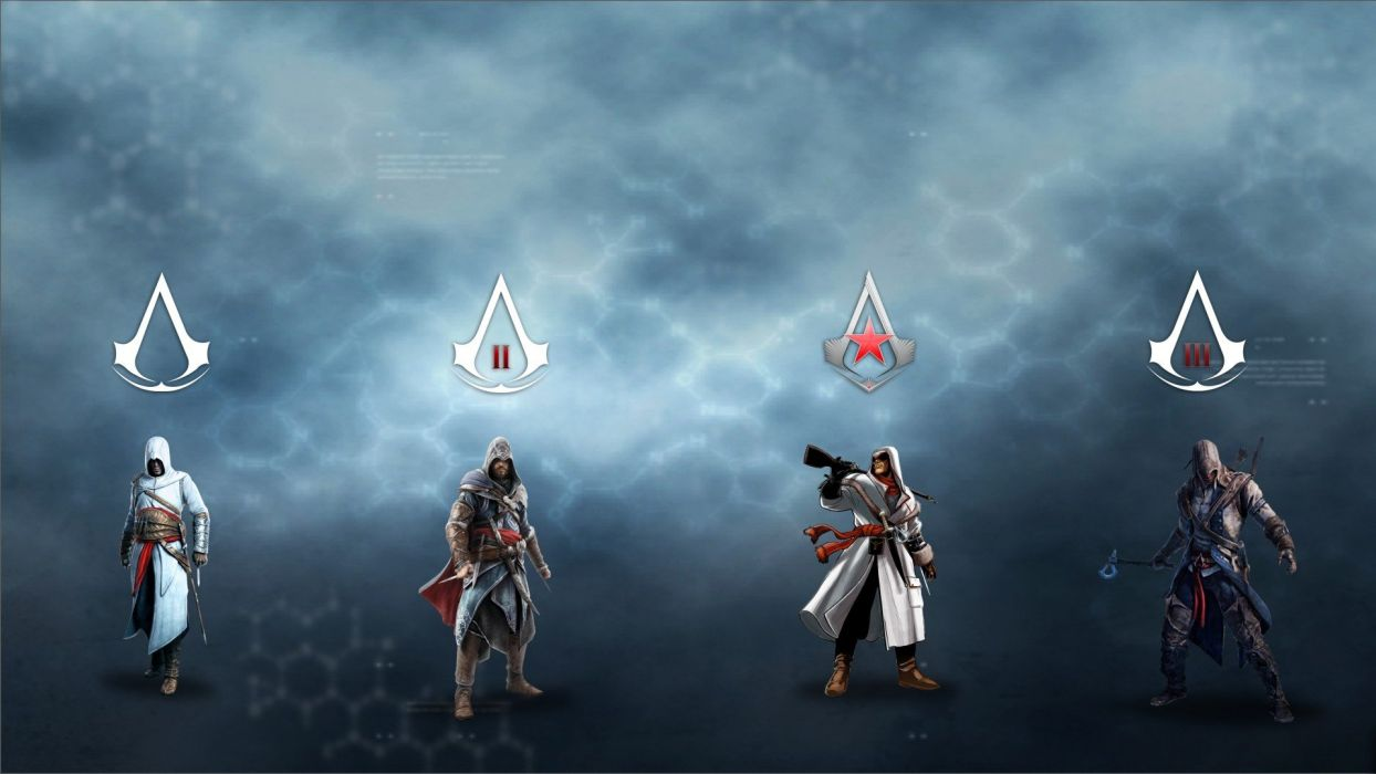 Assassins Creed Characters 2 3 The Fall Wallpaper