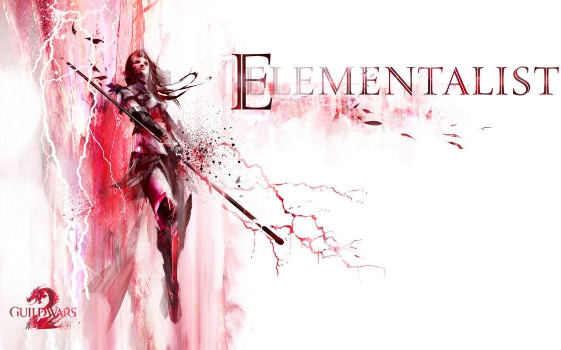 fantasy art Guild Wars 2 wallpaper
