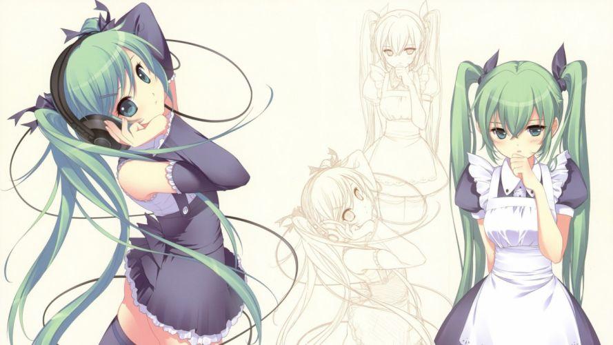 anime anime girls wallpaper