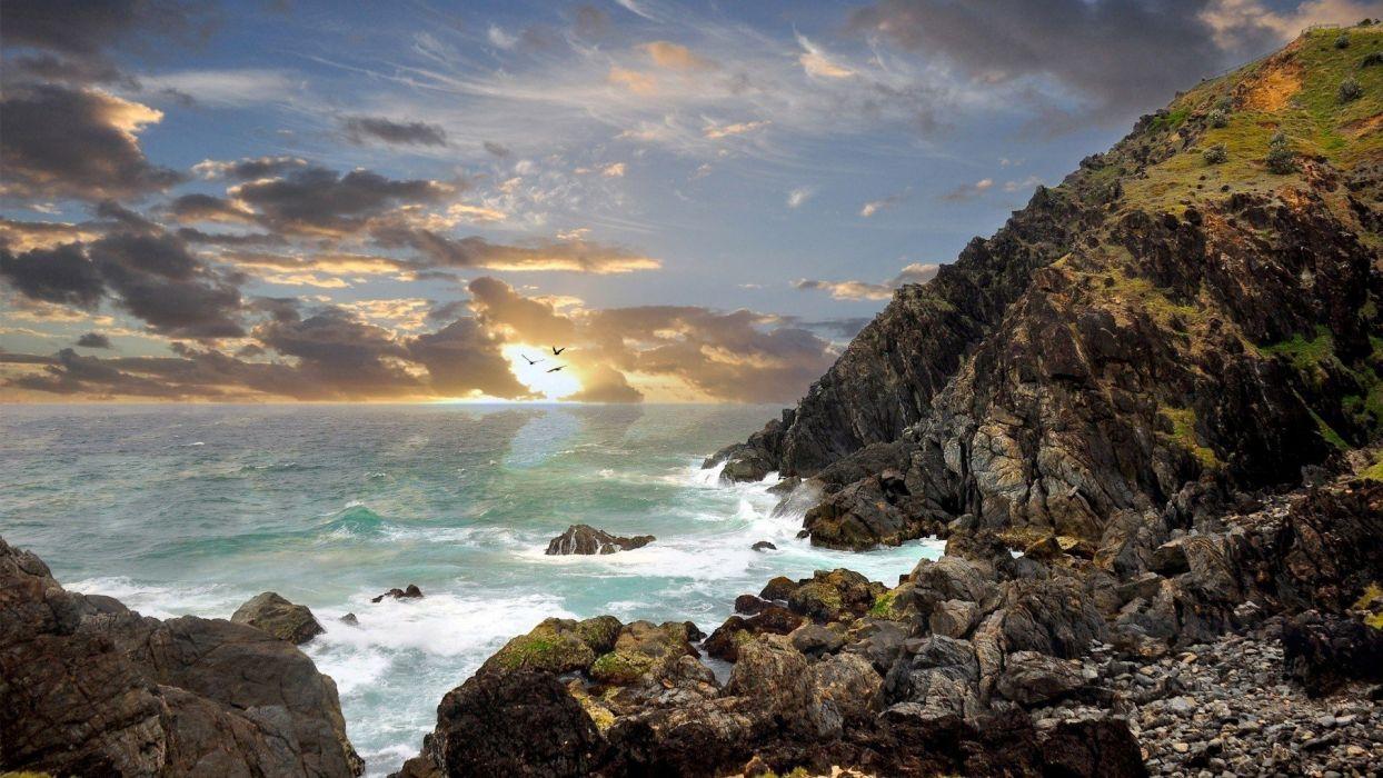 landscapes nature cliffs interfacelift wallpaper