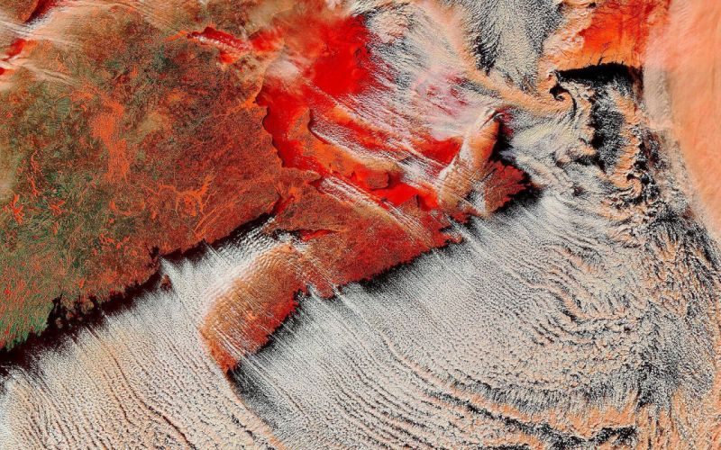 Earth NASA satellite wallpaper