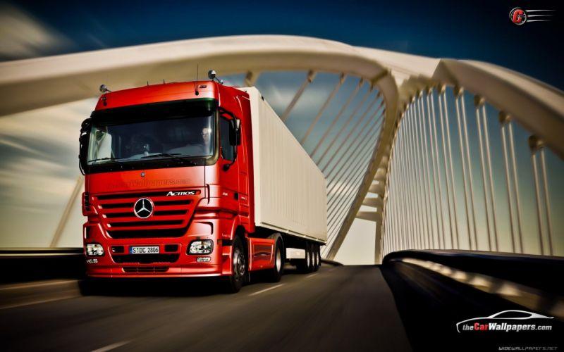 trucks Mercedes Benz wallpaper