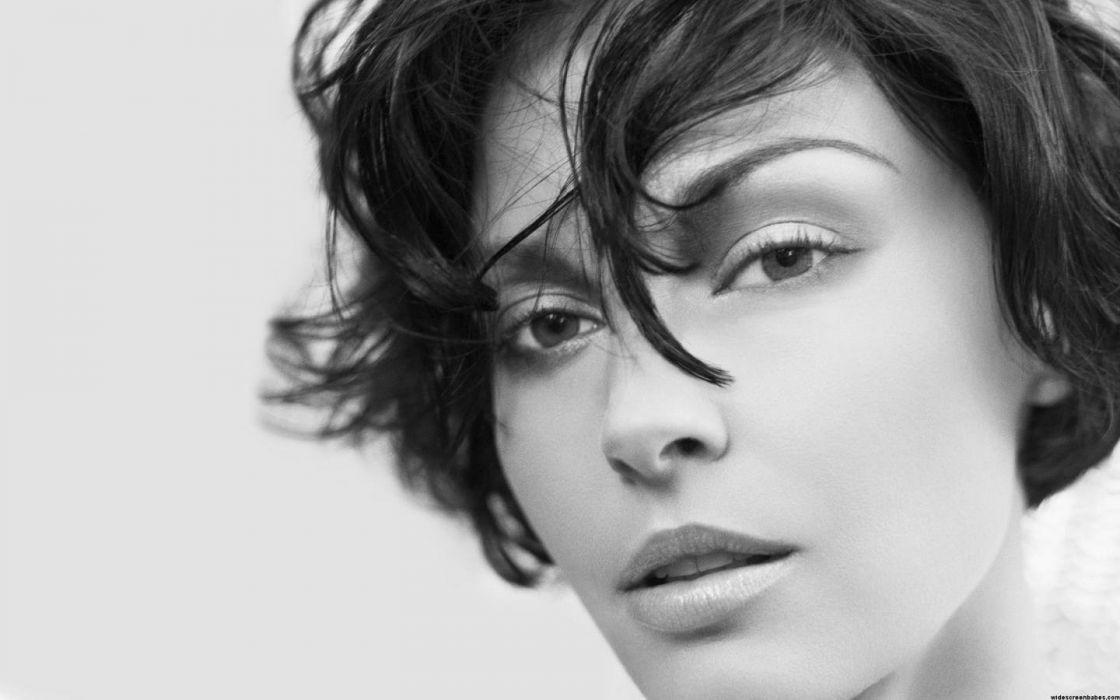 eyes grayscale monochrome Ashley Judd faces wallpaper