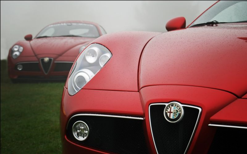 cars Alfa Romeo vehicles wallpaper