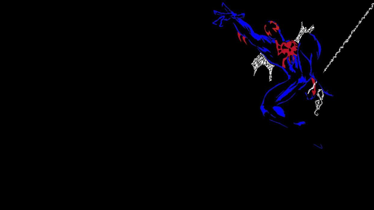 Spider-Man black background wallpaper