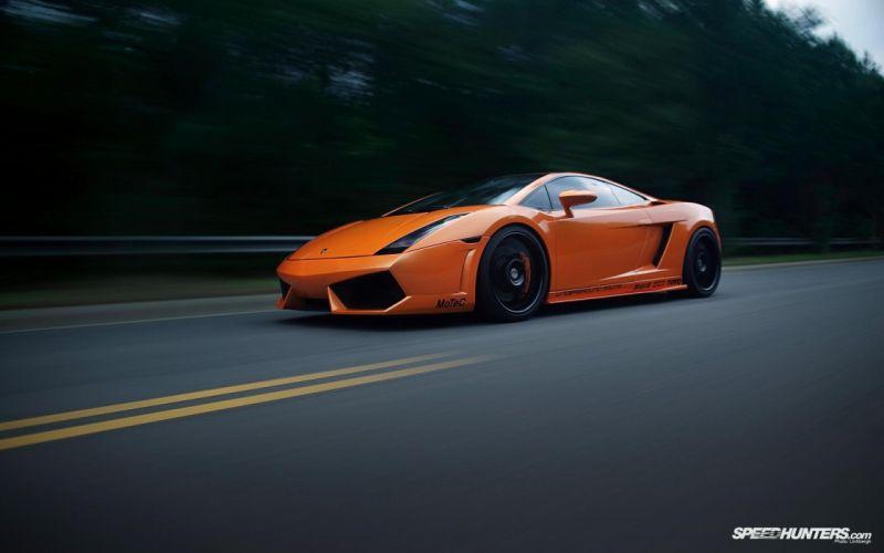 cars Lamborghini roads orange cars wallpaper