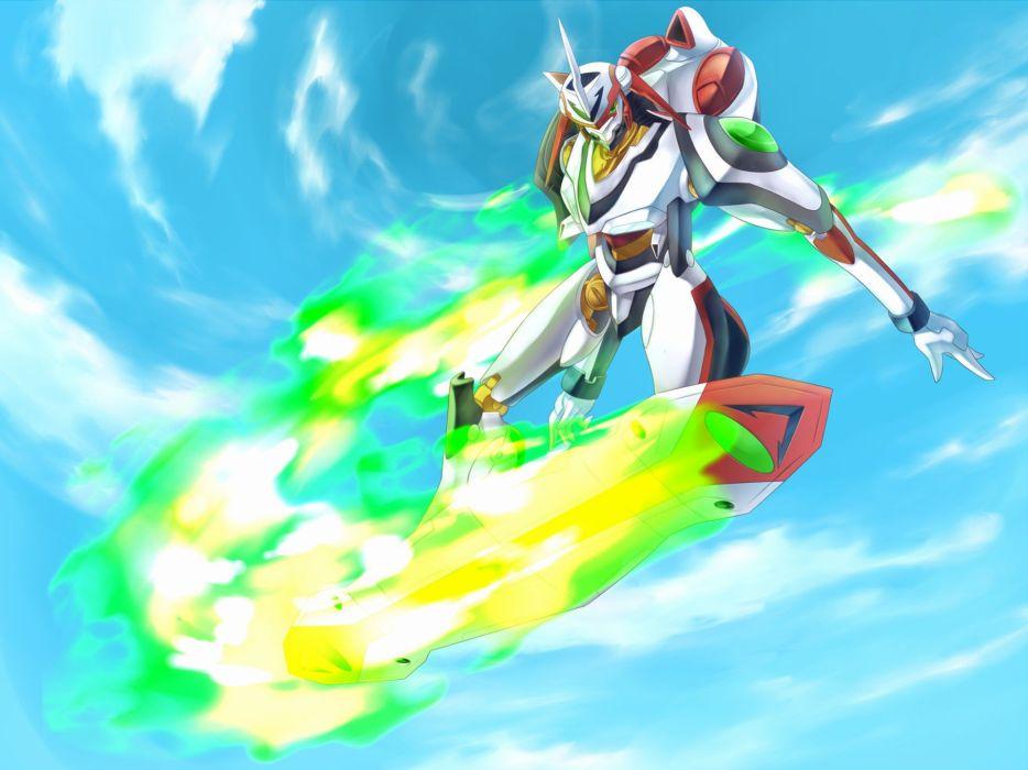 Eureka Seven Nirvash anime wallpaper