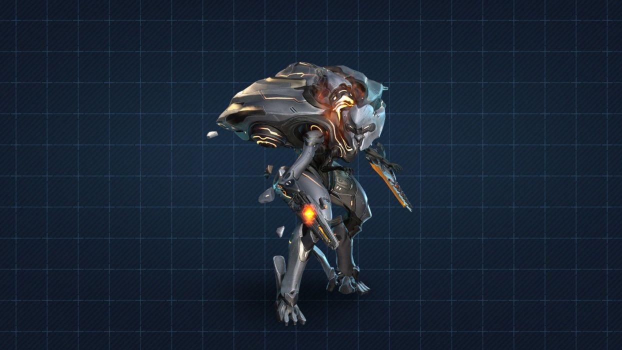 knight Halo 4 Promethean wallpaper