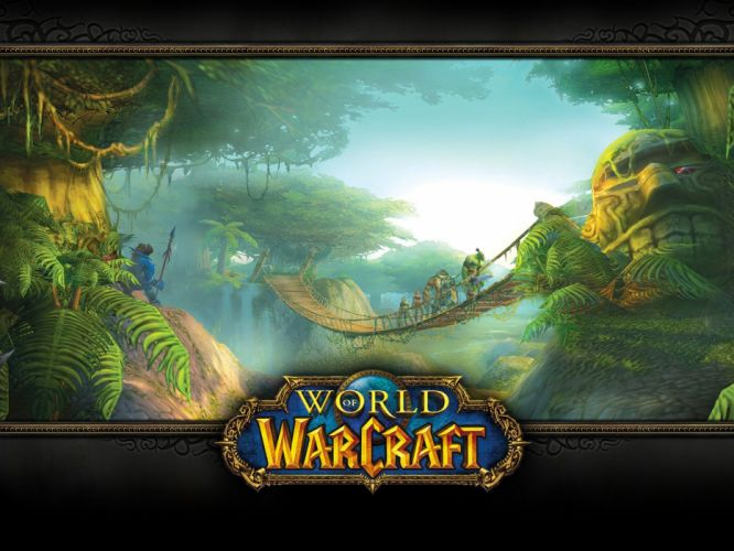 World of Warcraft old games wallpaper