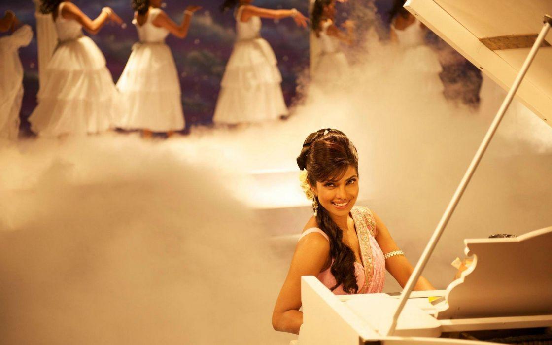 piano Bollywood Priyanka Chopra movie stills Teri Meri Kahaani wallpaper