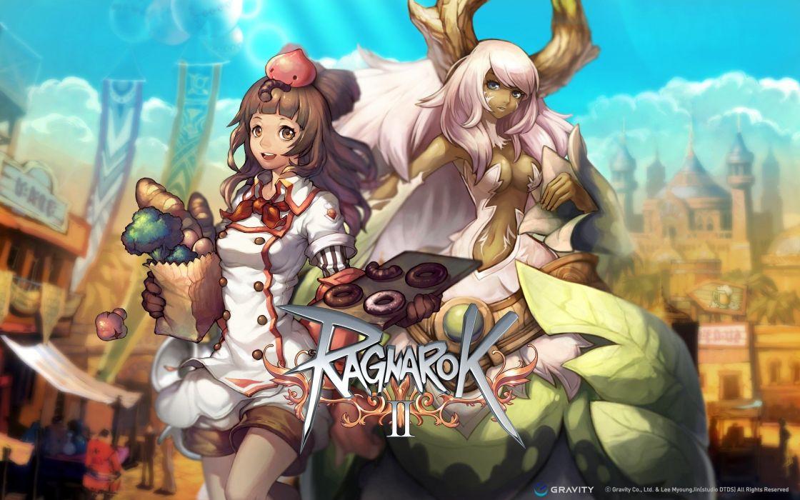 fantasy video games Ragnarok Online wallpaper