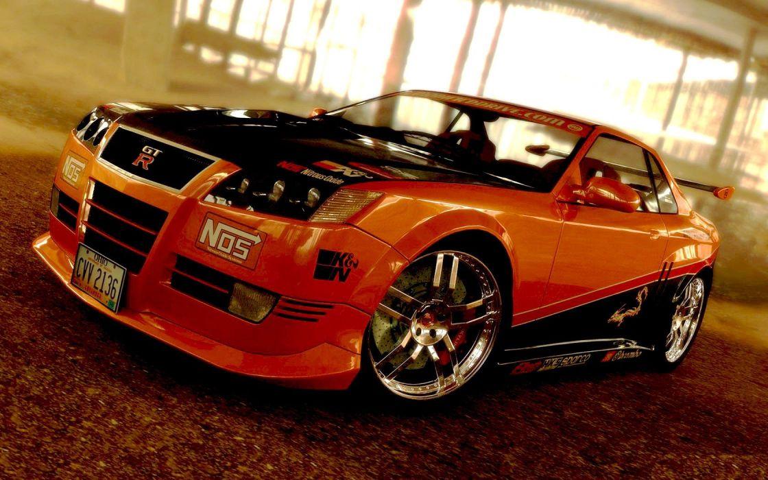 cars vehicles Nissan GT-R R35 wallpaper