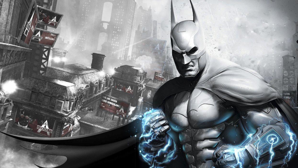 Batman video games Arkham City wallpaper