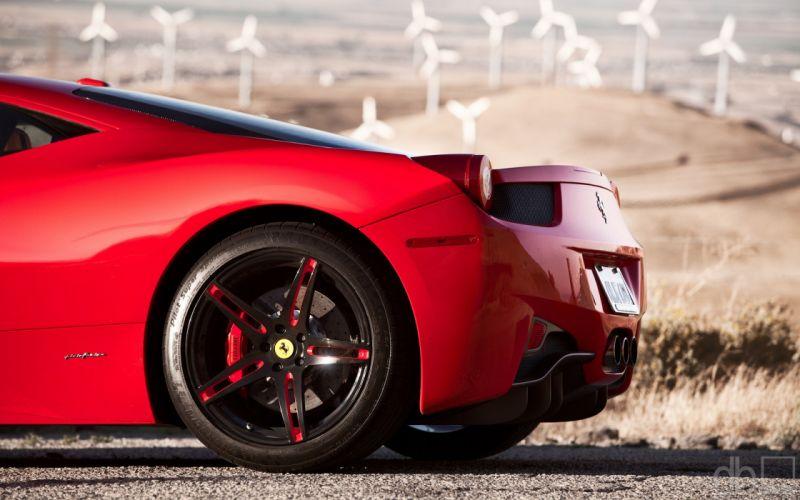cars Ferrari races wallpaper