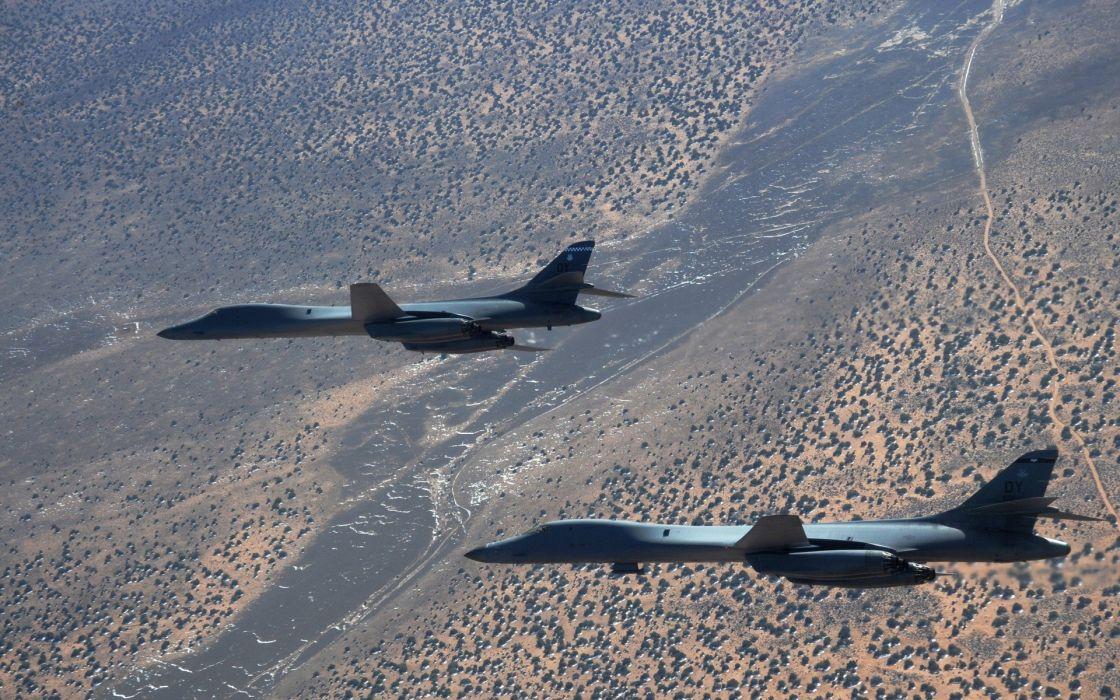 aircraft jet aircraft B1 Lancer wallpaper