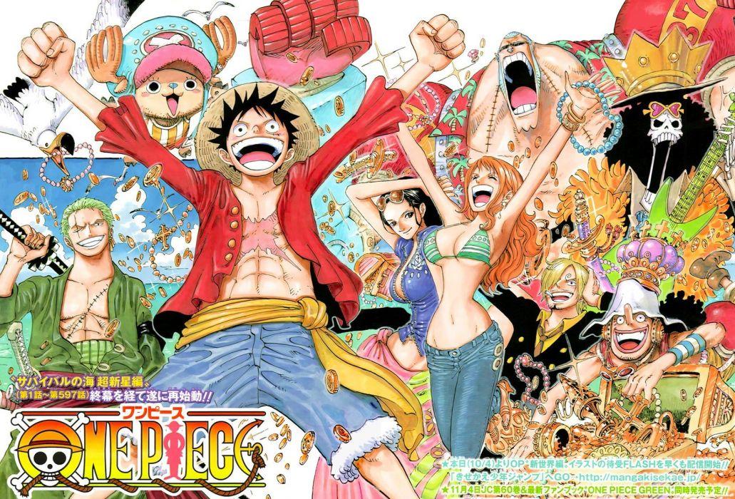 One Piece (anime) manga wallpaper