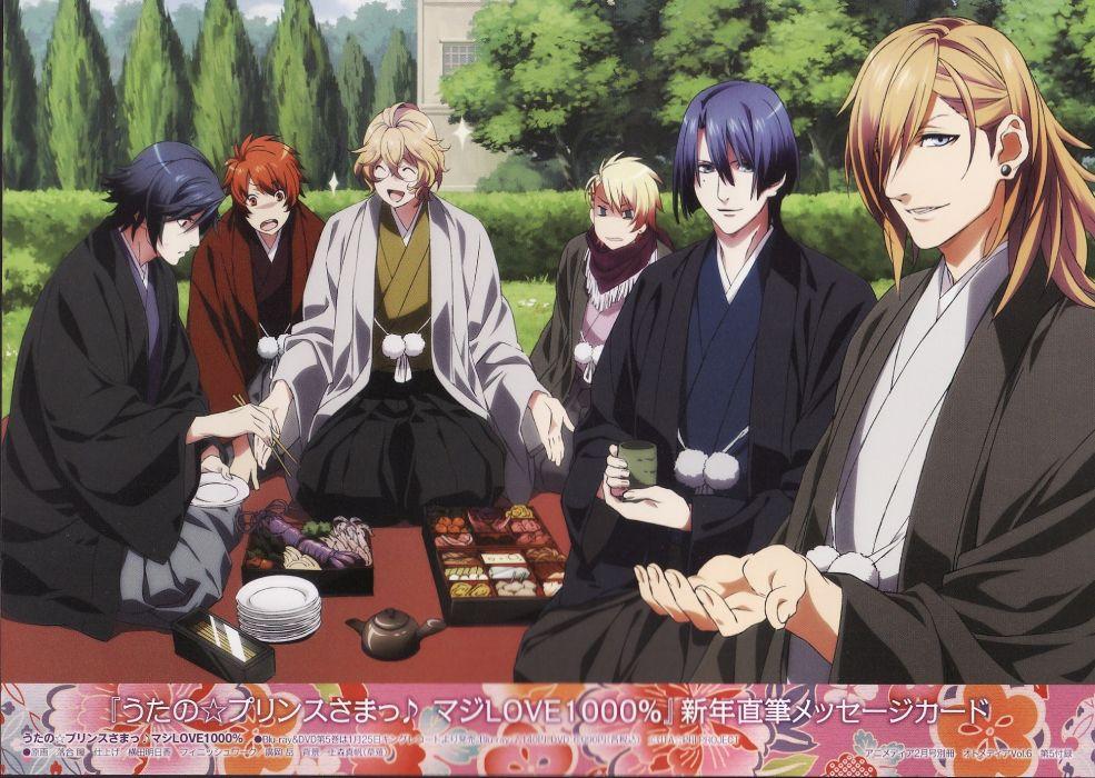 visual novels prince anime anime boys Uta no Prince-sama wallpaper