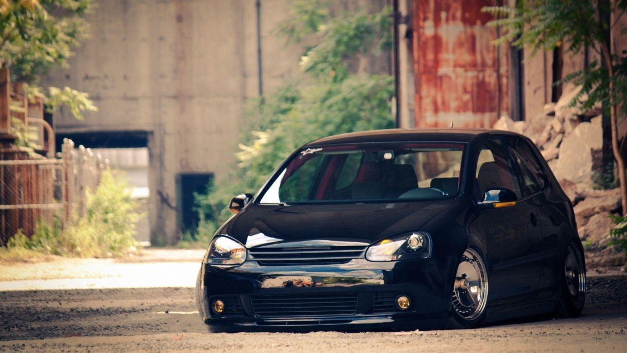 cars tuning Volkswagen Golf wallpaper