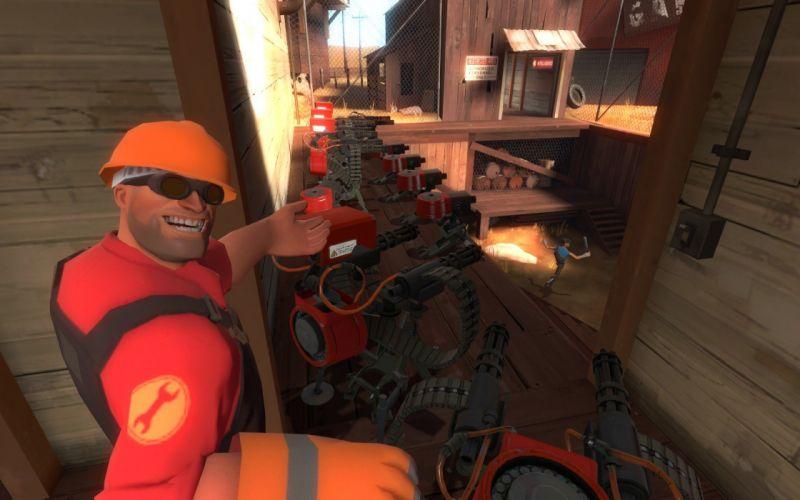 Engineer TF2 Team Fortress 2 wallpaper