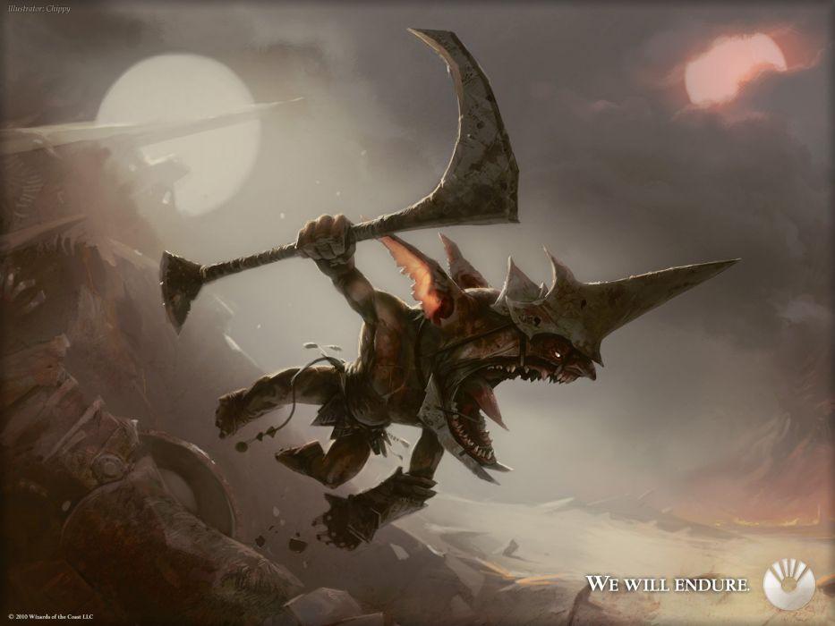 monsters Magic: The Gathering artwork wallpaper