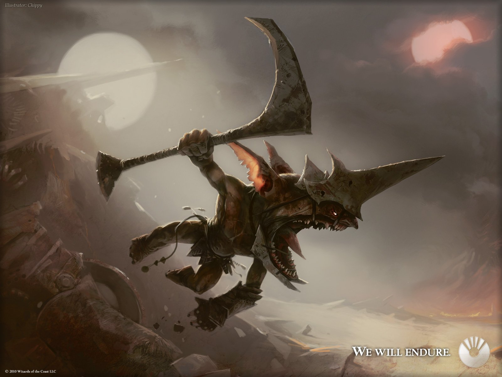 Monsters Magic: The Gathering artwork wallpaper | 1600x1200 ...