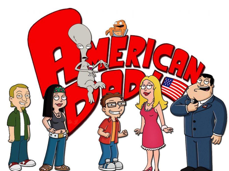 cartoons American Dad TV shows wallpaper