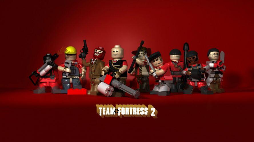 video games Team Fortress 2 Legos wallpaper