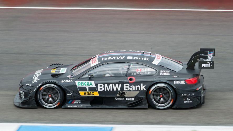 cars sports races BMW M3 DTM BRUNO SPENGLER wallpaper