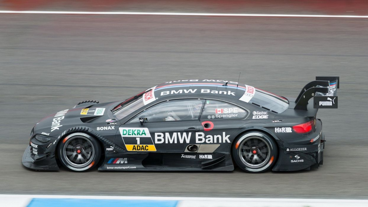 cars sports races BMW M3 DTM BRUNO SPENGLER wallpaper