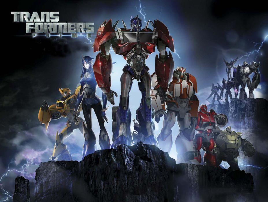 Transformers-Prime-series wallpaper