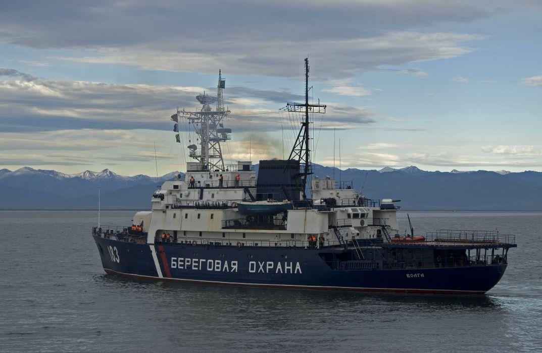 Russian coast guard vessel 183 wallpaper