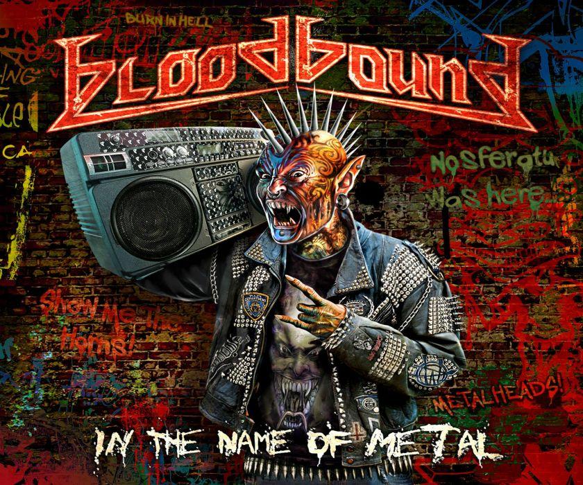 BLOODBOUND power metal heavy dark poster   g wallpaper