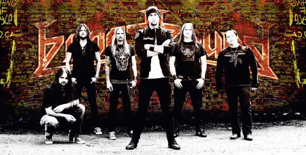 BLOODBOUND power metal heavy f wallpaper