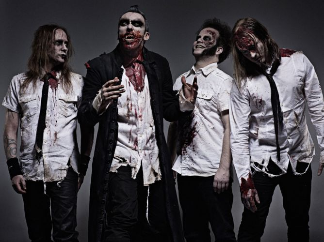 GOTHMINISTER gothic metal heavy dark monster zombie f wallpaper