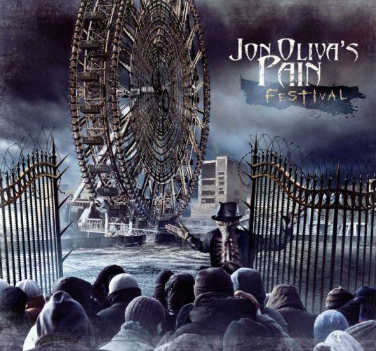 JON OLIVAS PAIN power metal heavy poster dark f wallpaper